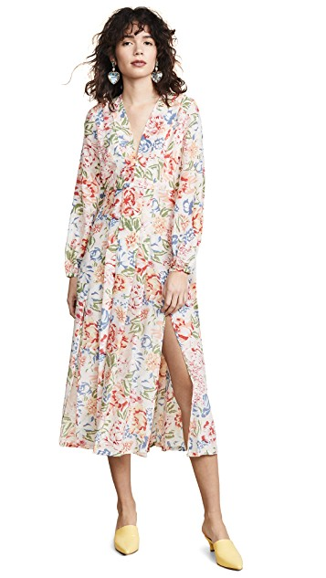 This  colorful floral dress  is 30% off, but hurry because quantities are limited!