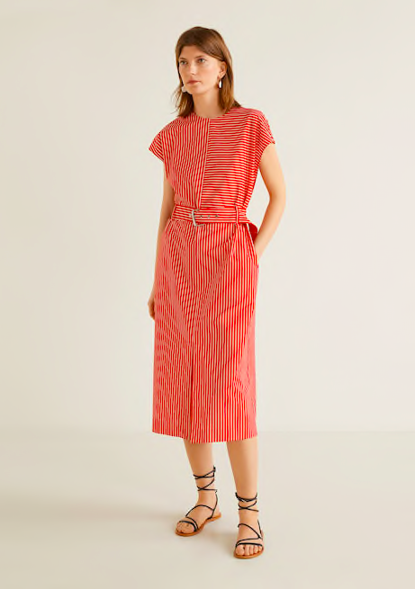 snap up this  belted shift dress  for under $60!