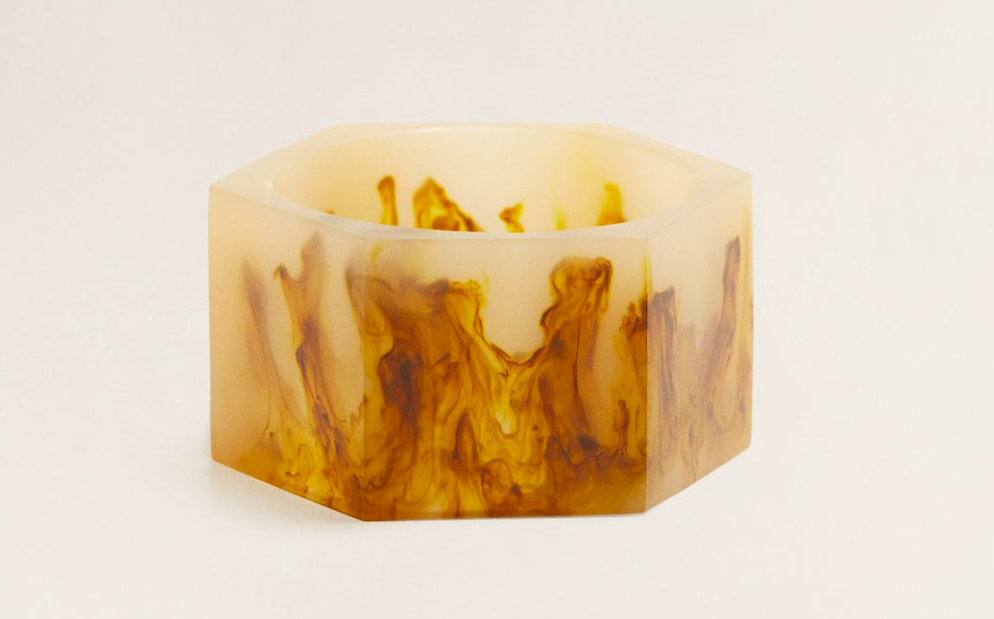 make a statement with this  resin bangle ! it's under $30!