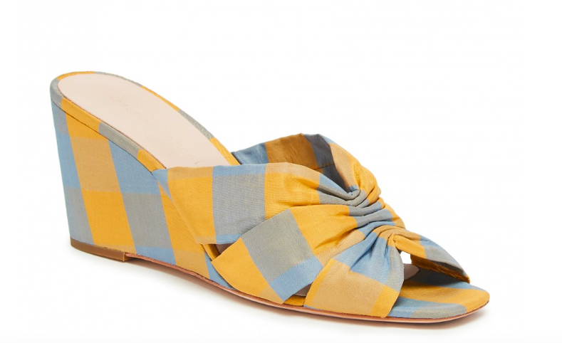 snap these  cinched wedge sandals  up while they're under $180!