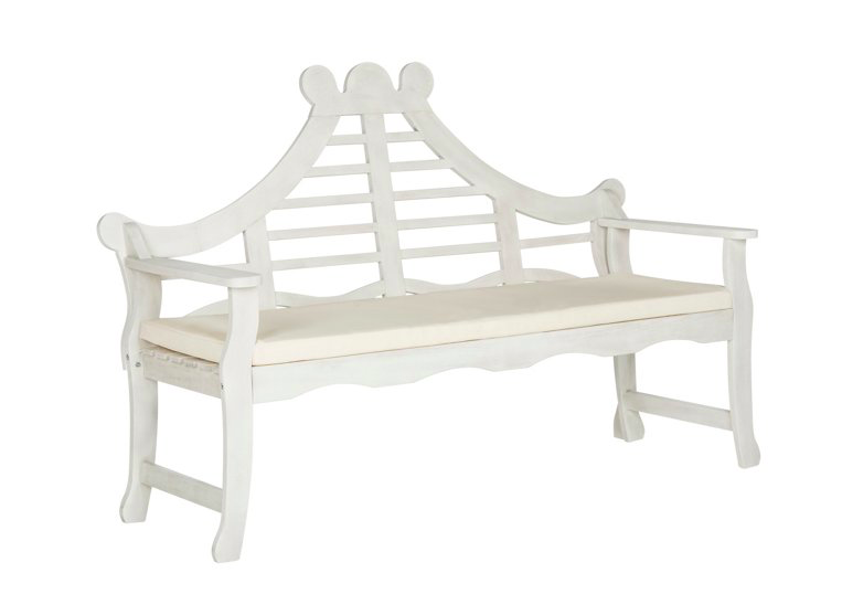 we cannot get over that this  pagoda-style bench  - it's on major sale for under $345!