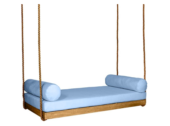 how amazing is this indoor/outdoor  bedswing ?!? snap it up while it's on sale!
