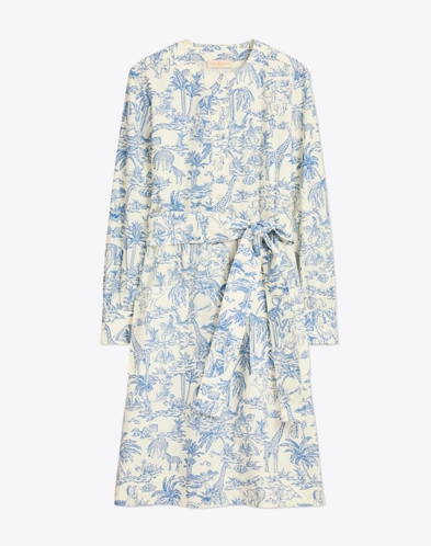 we adore this whimsical  safari toile shirtdress dress  (and it's a score right now)!