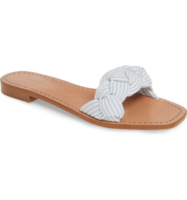 these  darling braided sandals  are on major markdown (now under $36)!