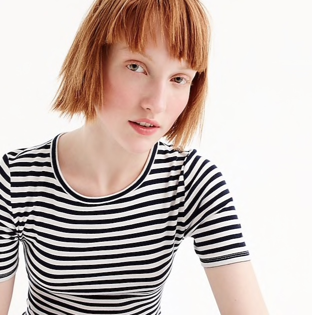 our  favorite striped shirt  (with the most flattering sleeve length) is now under $20!