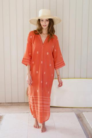 snap up this  vibrant caftan !