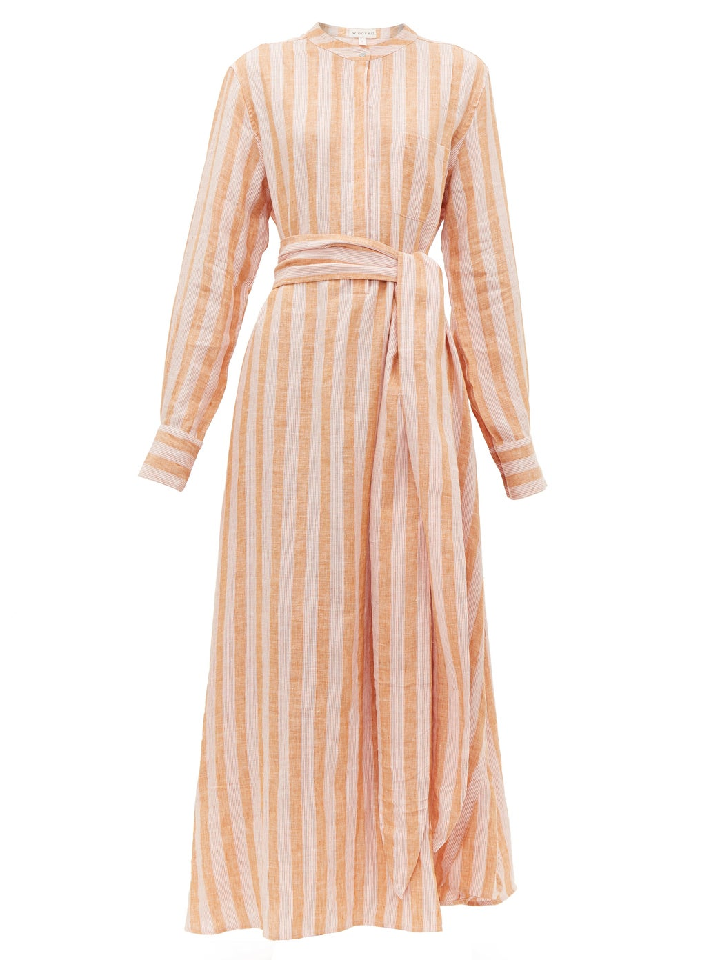 smitten for stripes - this  wrap dress  is our very favorite!