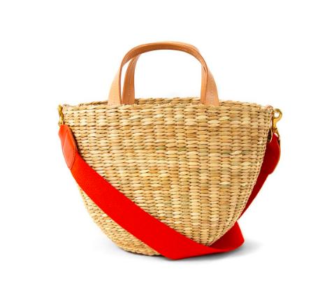 take 25% off this chic customizable  basket bag !