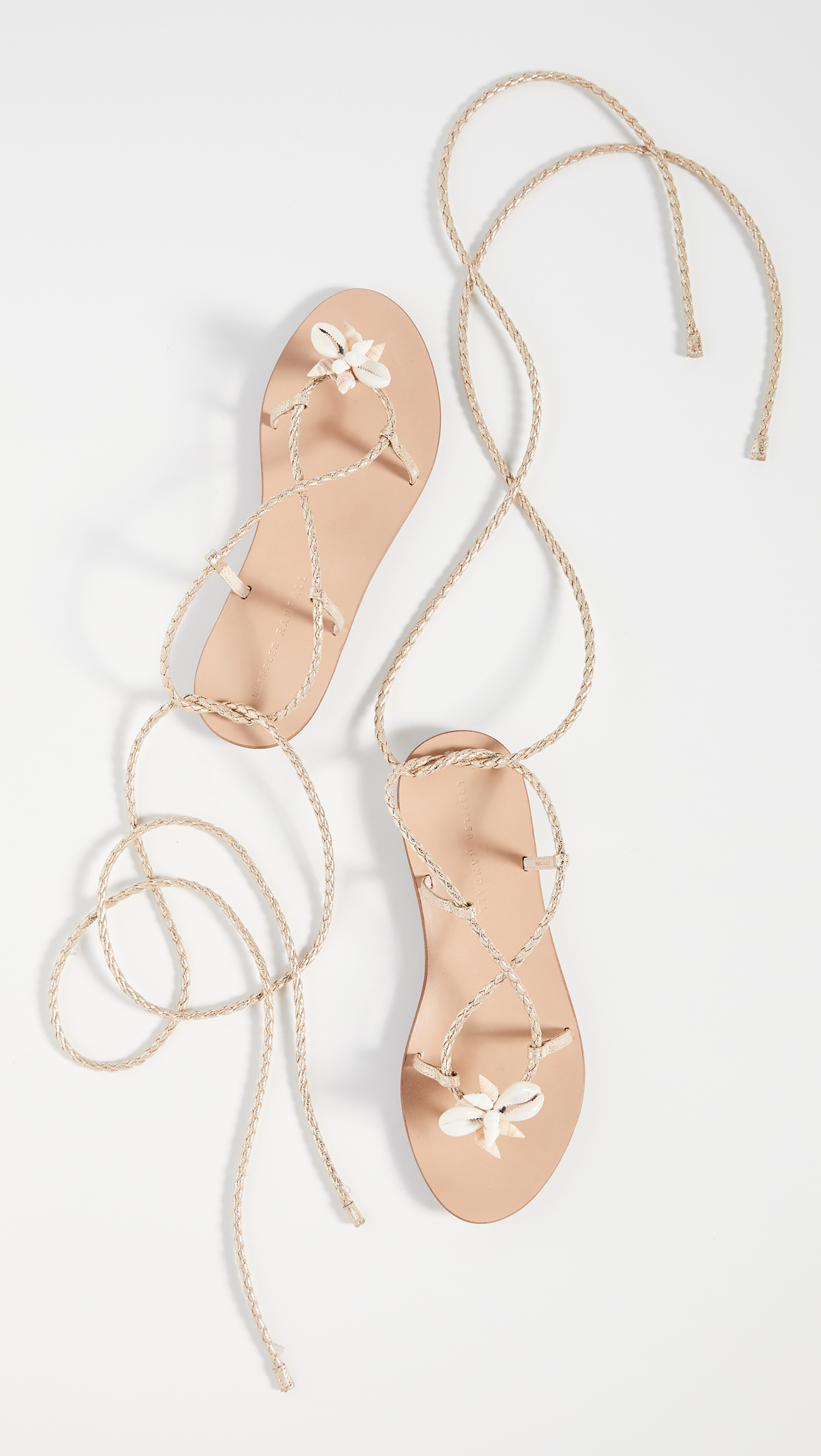 we just added these  shell sandals  to our  getaway favorites !
