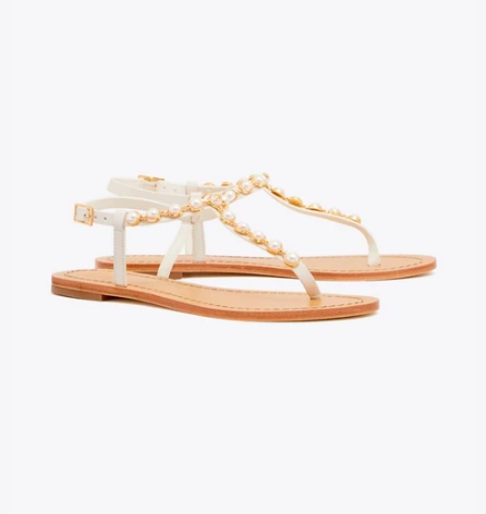 take an extra 25% off these  pearl sandals  - they're a score at $112!