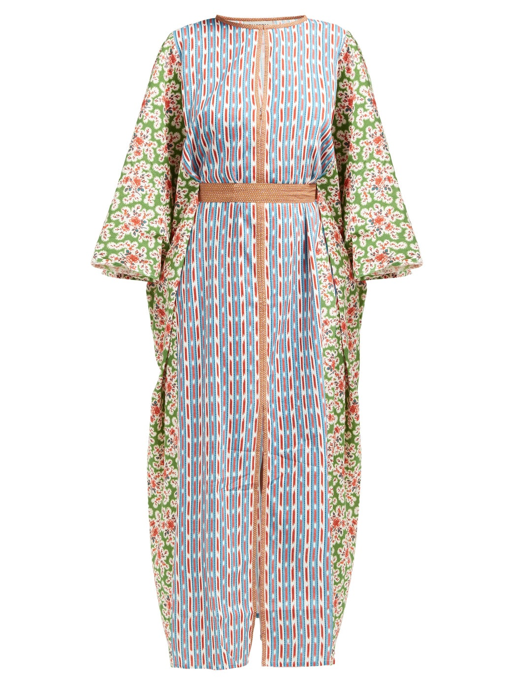 how happy is this  colorful, printed caftan ?!?!