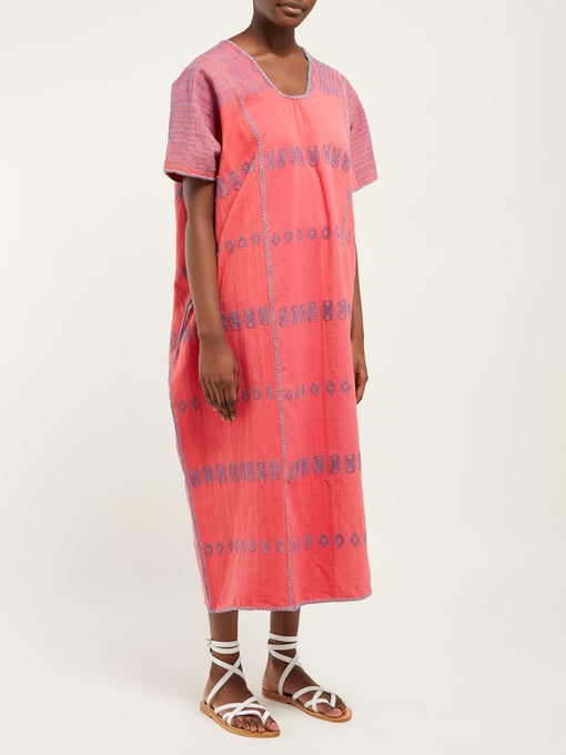 hello color crush! this  watermelon color caftan  is swoon worthy!