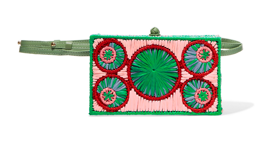 chic, colorful, and beautifully made… we couldn't adore this  versatile raffia bag  more!