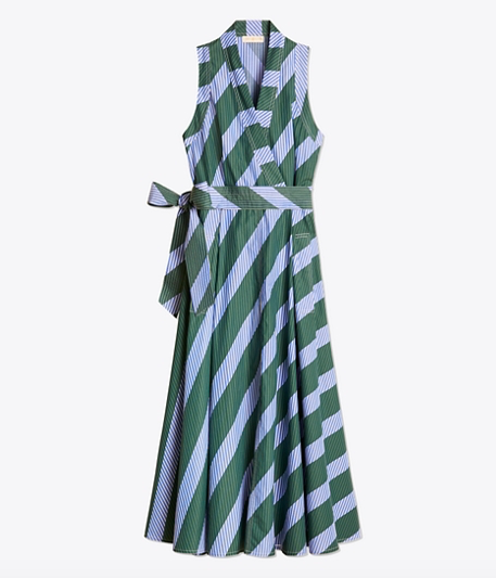 it's no secret we're smitten for stripes! this  darling wrap dress  is the perfect piece for summer!