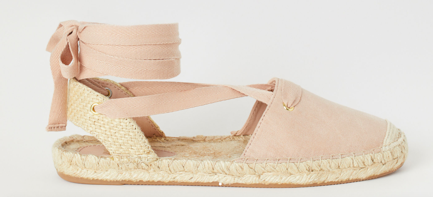 braided jute espadrilles  for under $29.99?!? yes, please!