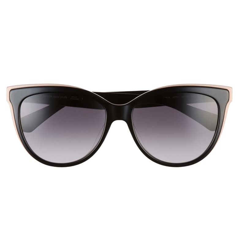 deal alert! these  cat-eye polarized sunglasses  are marked down to $106!