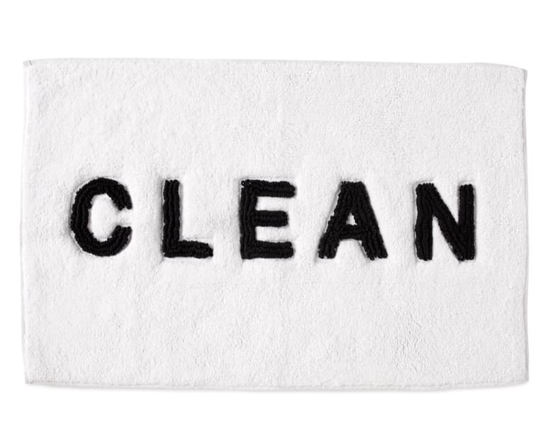 BECAUSE EVERYONE SHOULD HAVE  CHEEKY BATHMAT  (ESPECIALLY WHEN IT'S A DEAL AT UNDER $20)!