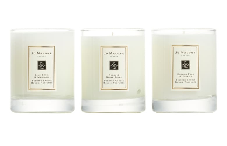 FOR $76 YOU CAN SNAP UP THREE OF  Jo Malone's most-loved CANDLES !