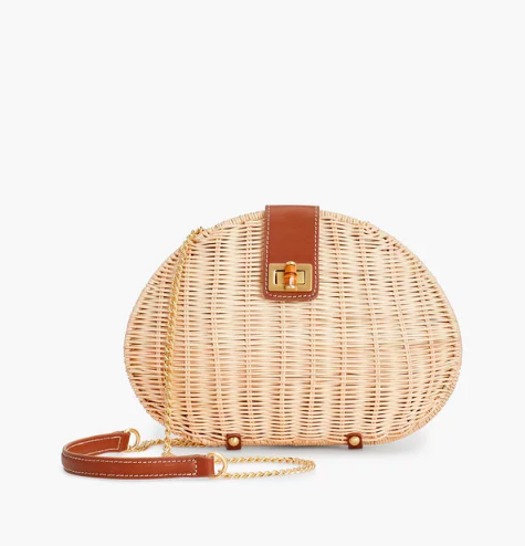 one of our  favorite wicker bags ! plus, it's over 50% off today!