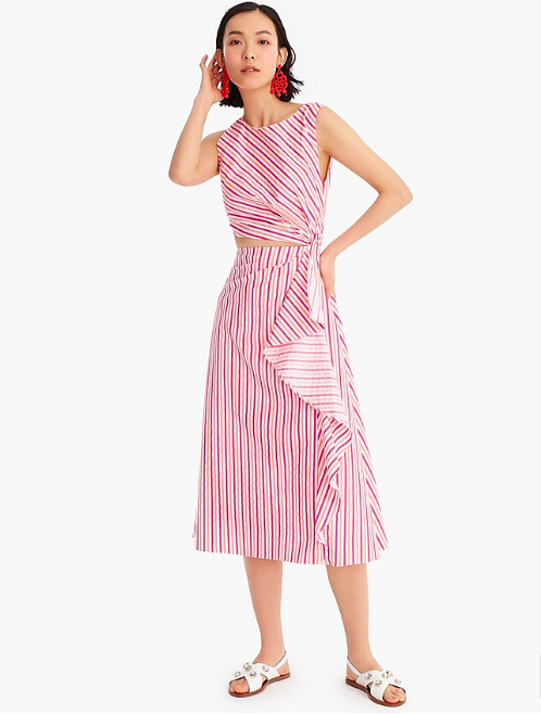 """say, """"hello"""" to your new  go-to midi dress … 40% off today with code """"SHOPFAST"""""""