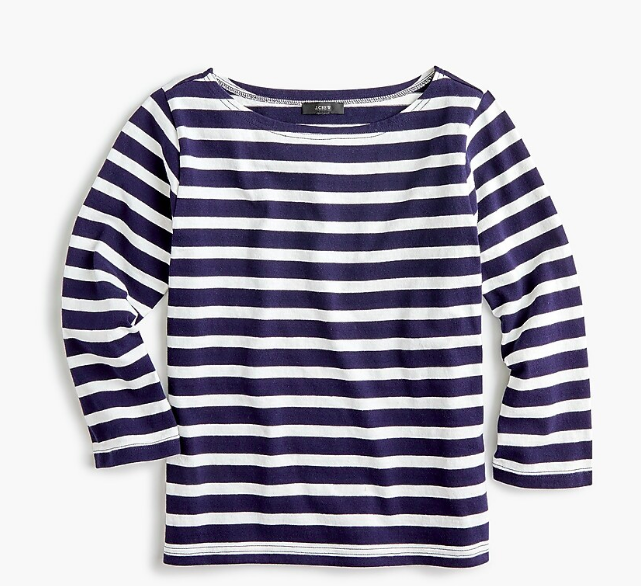 a  boatneck tee  is a must-have in every closet!
