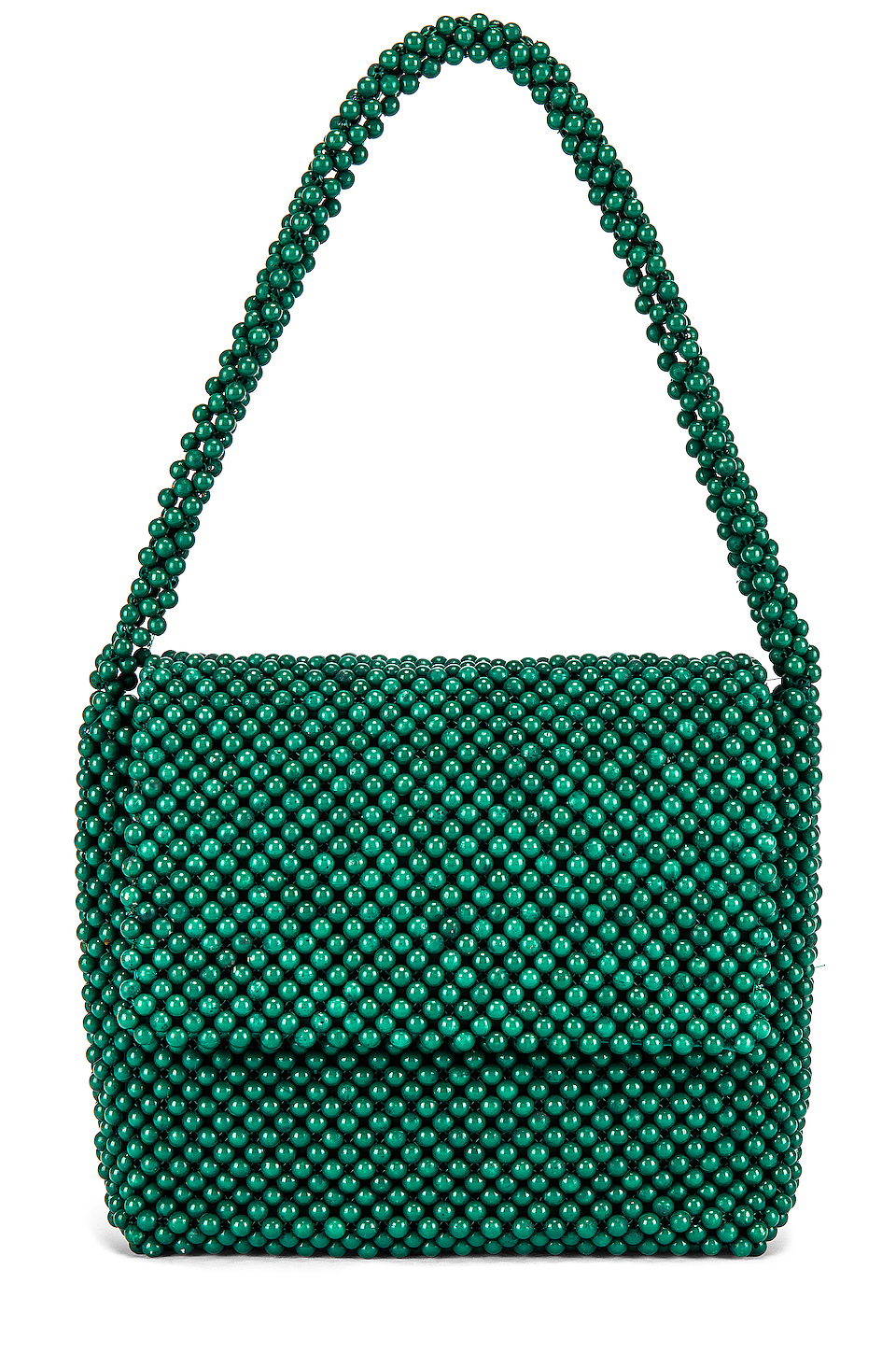 this  emerald, beaded beauty  is under $100!