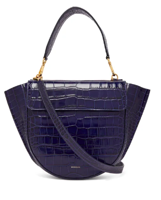 we're eyeing this  crocodile-effect leather bag ! p.s. it's 30% off today!