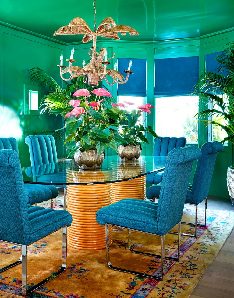 take a  peek  at cara and poppy delevinge's island oasis!