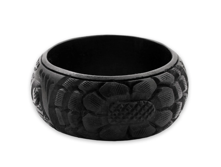 this  mango, wood bracelet  is a steal for under $17!