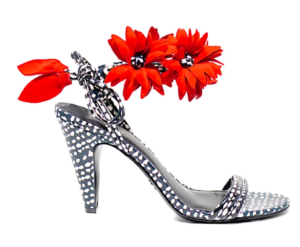 the most  whimsical shoes ! you're sure to make a statement with these beauties!
