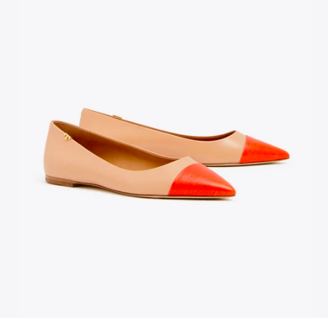 our  signature cap-toe flats  are on MAJOR sale today!