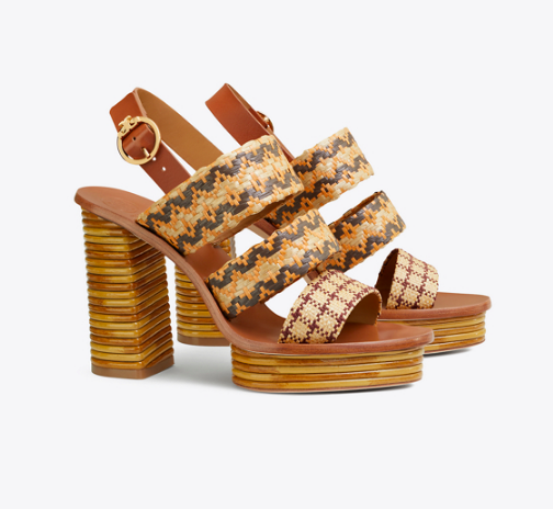 who knew pattern play could look so chic?!?! these  wedges  are perfection!