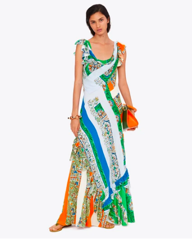 there's nothing we love more than a  colorful patterned maxi !
