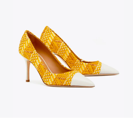 treat yourself with these  happy yellow heels ! under $150 today!