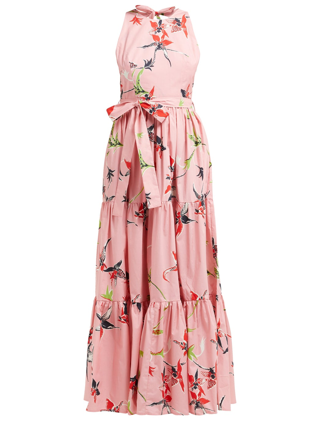 take 40% off this  floral printed dress !