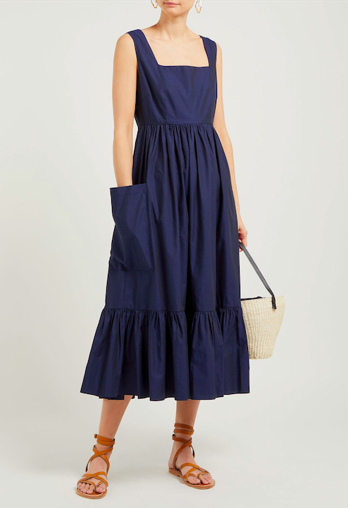 pockets, please! this  cotton dress  is now only $250!