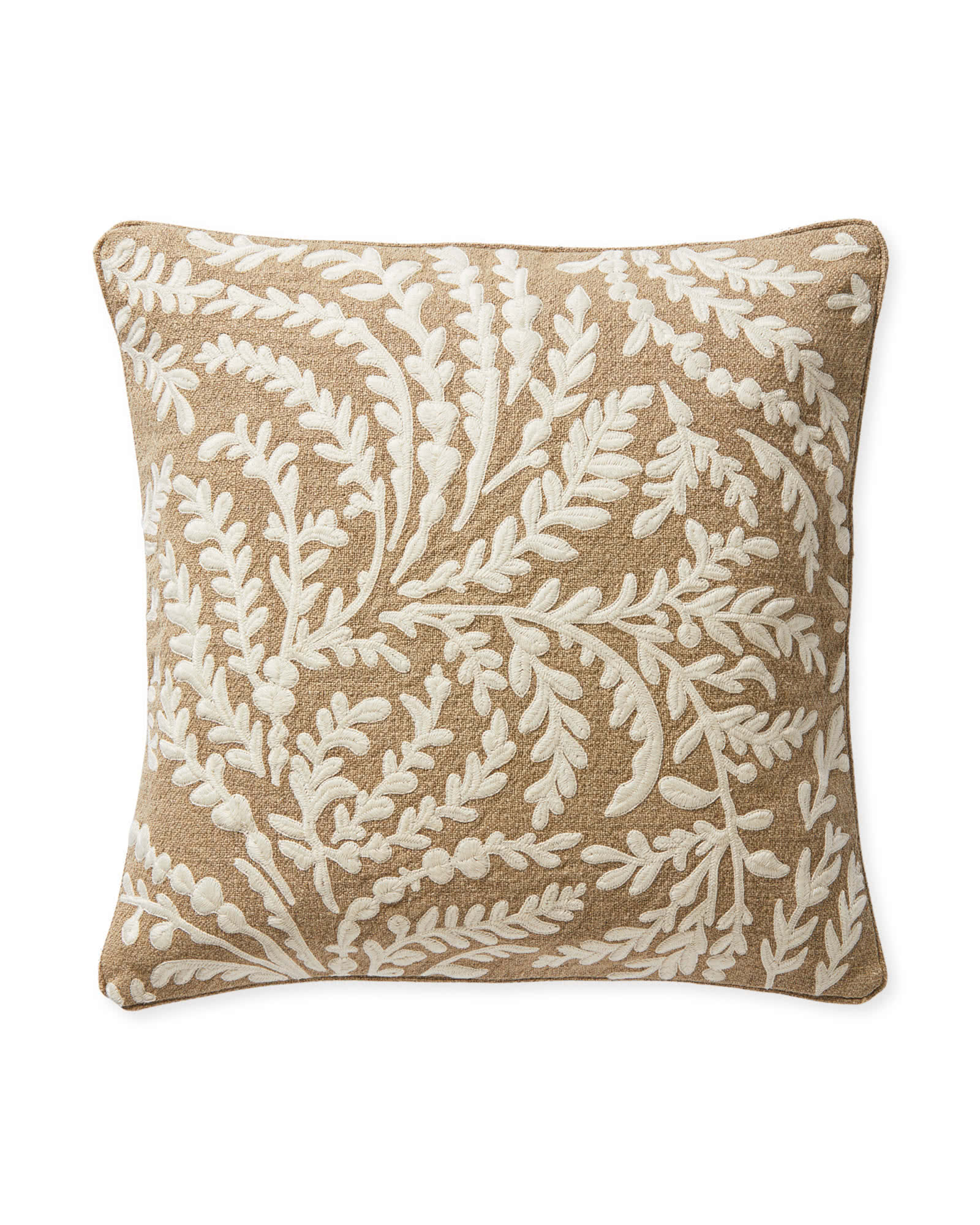 deal of the day: add a pop of pattern to any sofa with this  embroidered pillow !