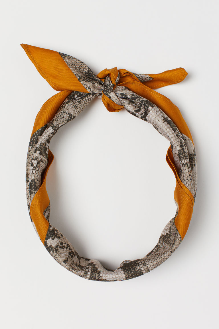 this versatile snakeskin  patterned scarf  is just $9.99!