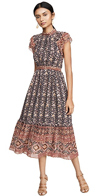 because we feel prettiest in pattern… this perfectly  patterned dress  is at the top of our wishlist!