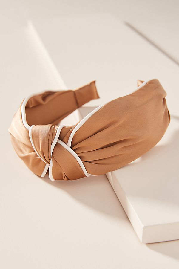 accessorize with this  neutral knotted headband  - it's under $20!
