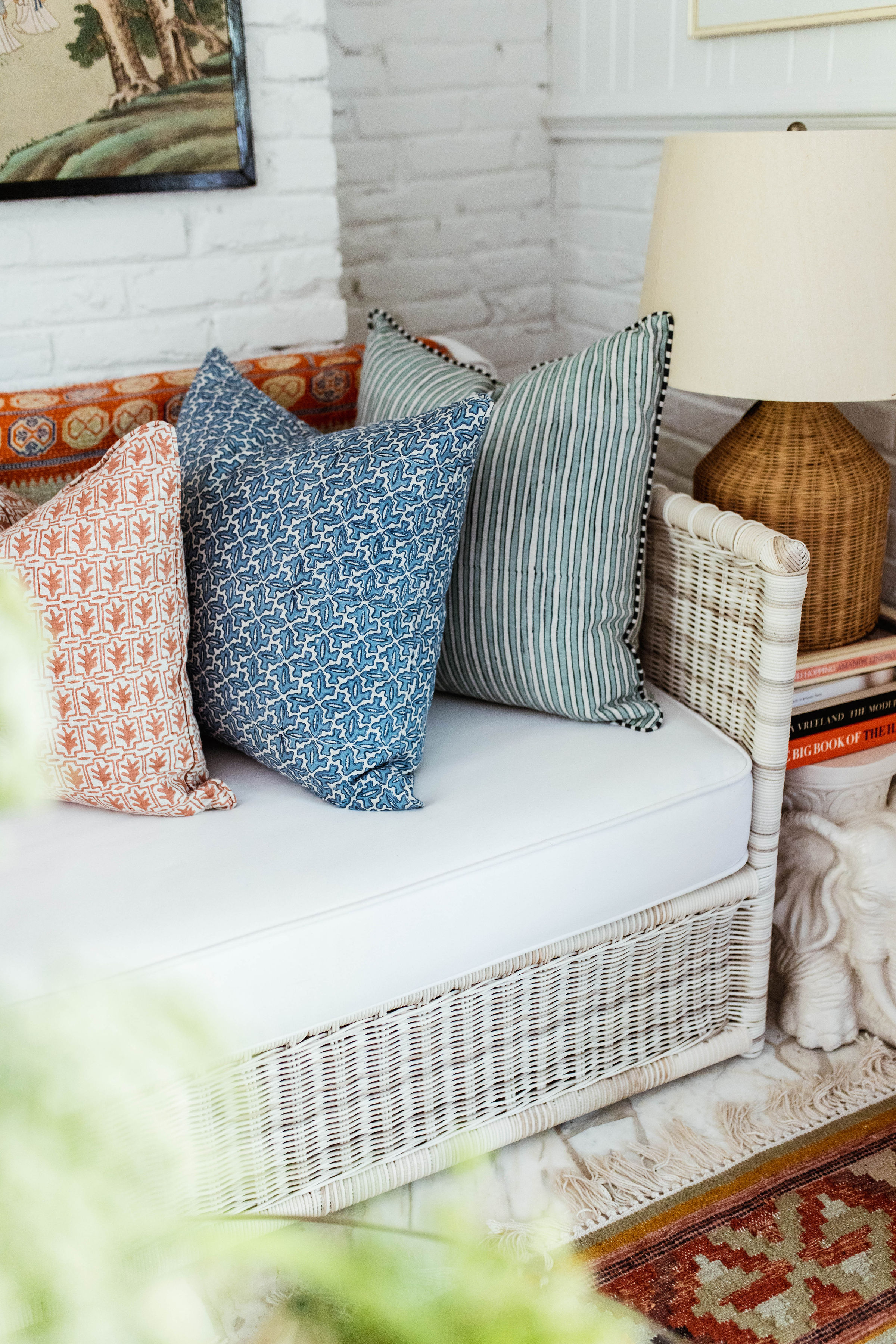 these  dear Keaton pillows  mix and match so nicely!