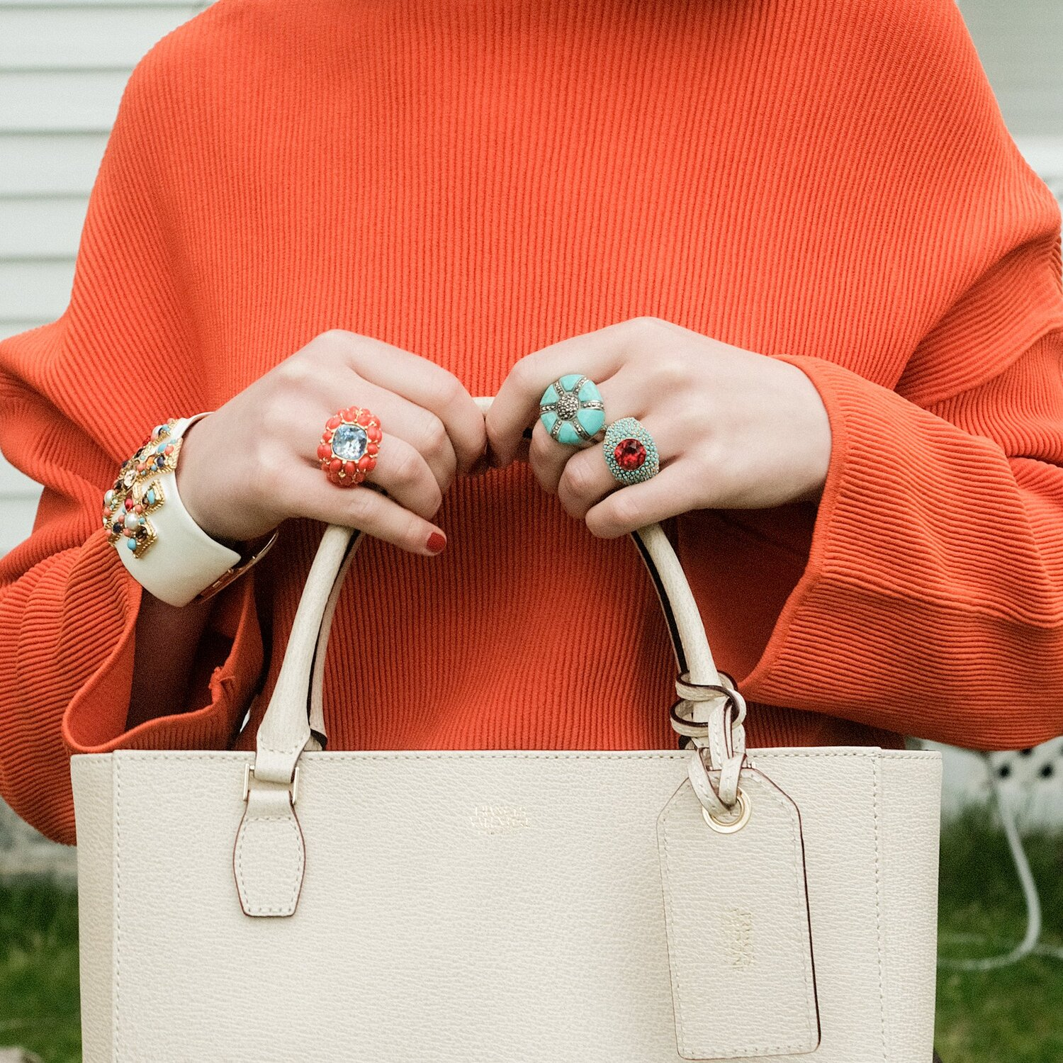 make a statement with these  whimsical rings !
