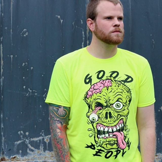 New Good People T-shirt's available starting tomorrow. #neon #🤯 @terminustees