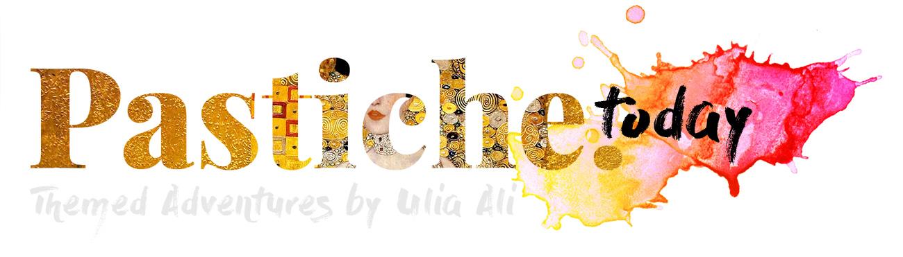 Gustav Klimt Pastiche Logo Pastiche Today.jpg