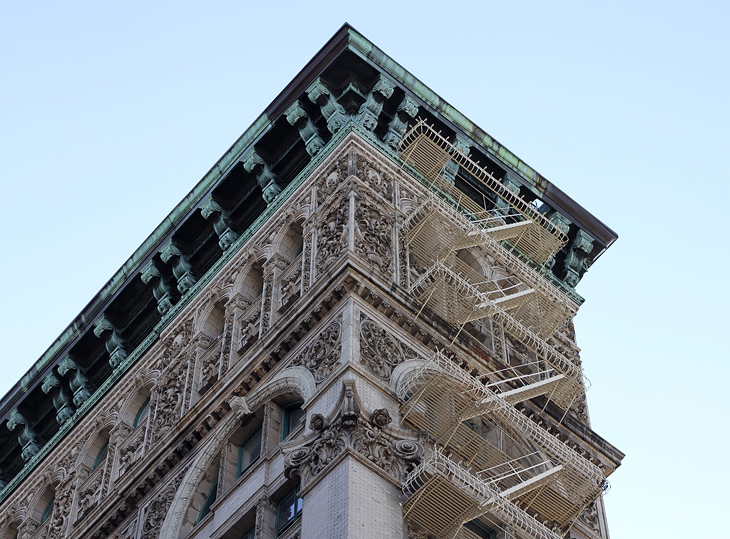 New York acrhitecture by pastiche.today blogger