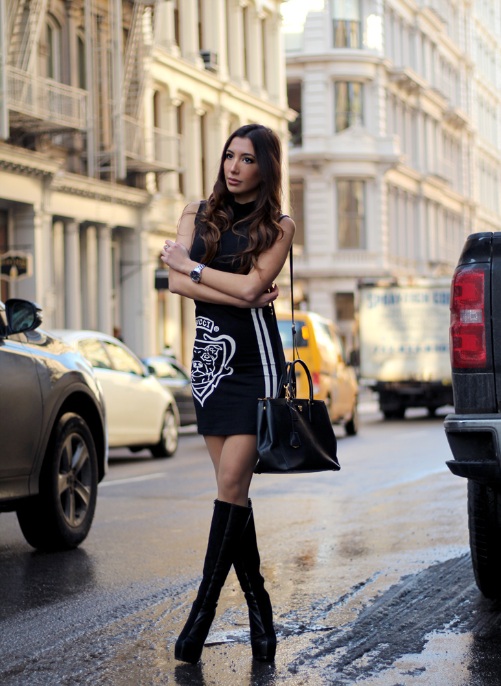 Model and blogger in NYC pastiche.today