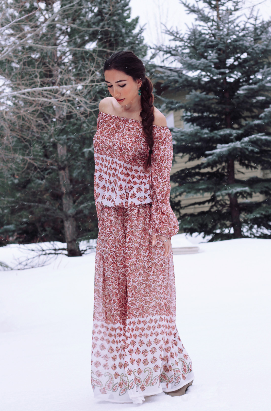 Ulia Ali in Utah. Style blogger in New York and Utah