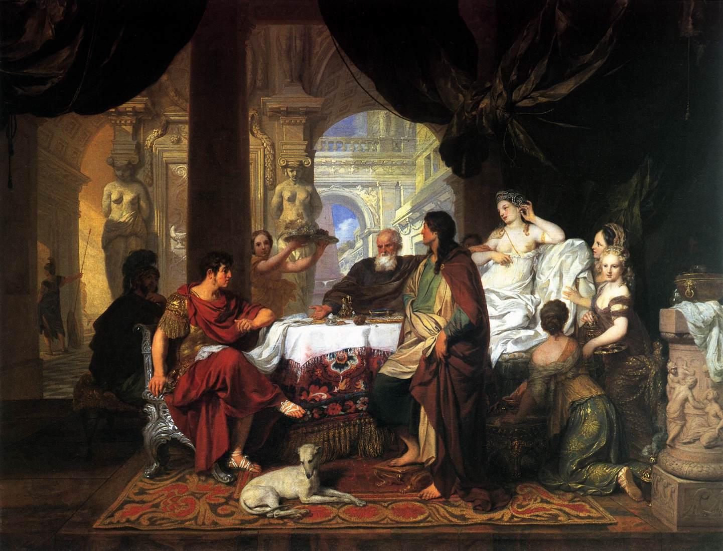 Cleopatra's Banquet   by Gerard de Lairesse