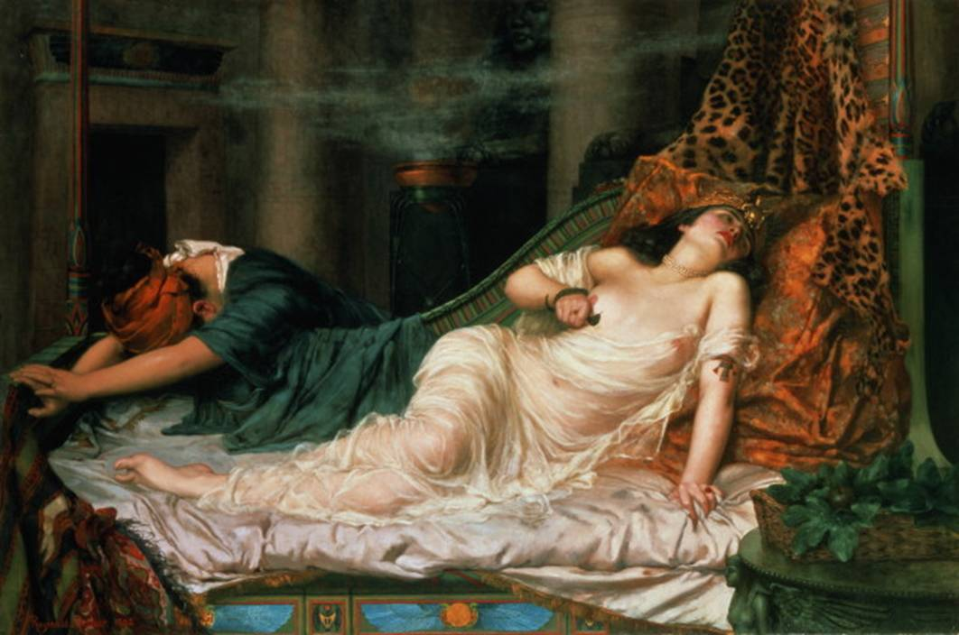 The Death of Cleopatra   by  Patra Arthur
