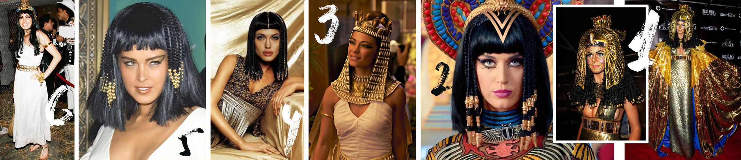 6. Anne Hathaway 5. Petra Nemcova 4. Angelina Jolie 3. Kristin Kreuk 2. Katy Perry 1. Heidi Klum